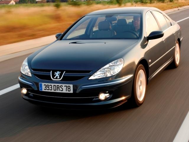 Autoesittely Peugeot 607 (2008)