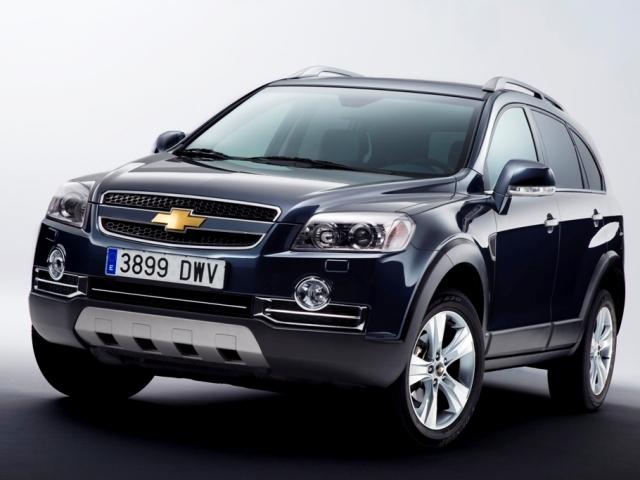 Autoesittely Chevrolet Captiva 2008-2010