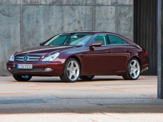 Autoesittely Mercedes-Benz CLS (2008)