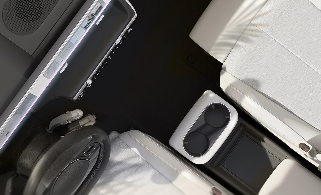 Hyundai aikoo mullistaa auton sisätilasuunnittelun – ensikuva uudesta IONIQ 5 -mallista julki