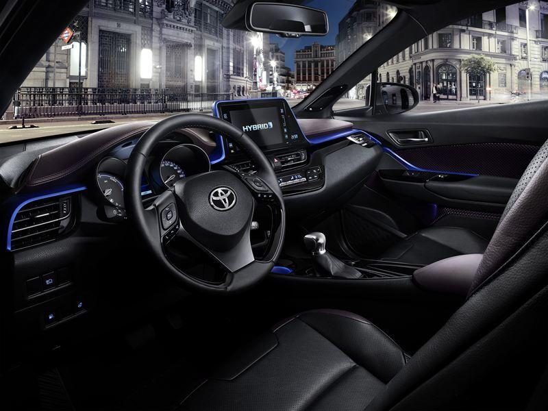 Tältä näyttää Coupé High-Rider eli Toyota C-HR