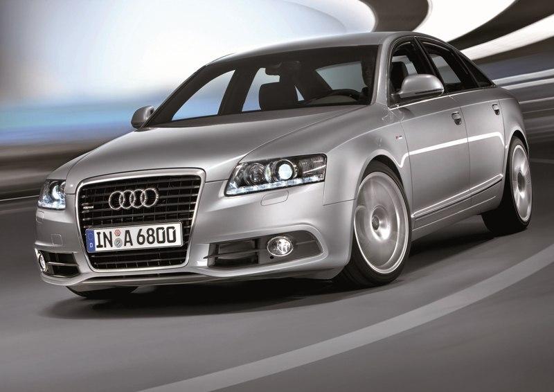 Autoesittely Audi A6 2010