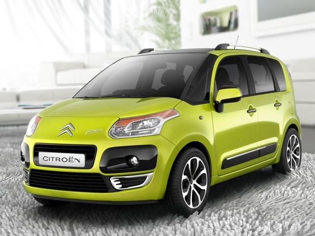 Autoesittely Citroën C3 Picasso 2012