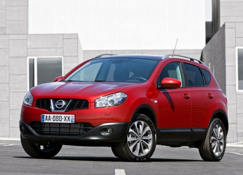 Autoesittely Nissan Qashqai 2012