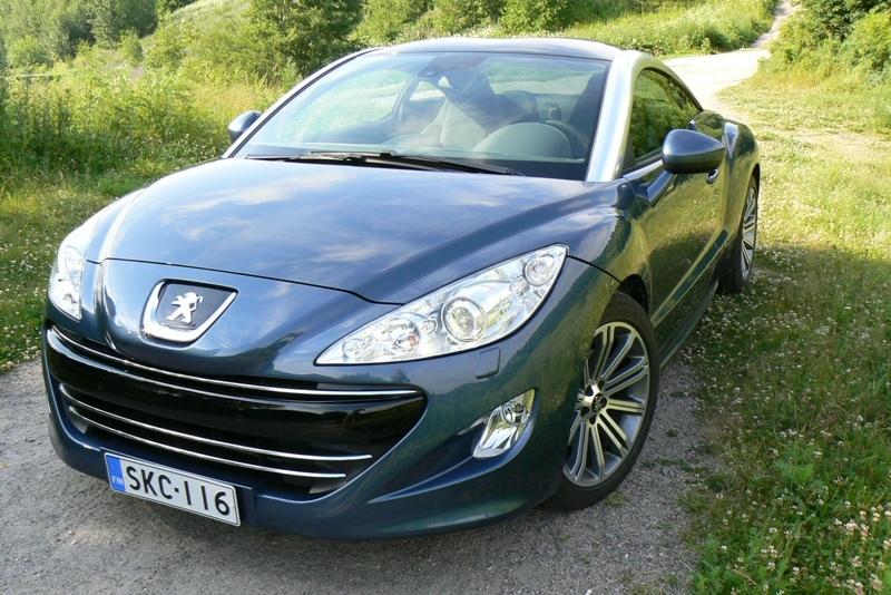 Autoesittely Peugeot RCZ (2011)