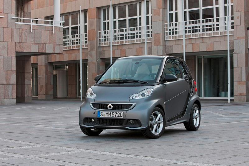 Autoesittely Smart Fortwo 2012