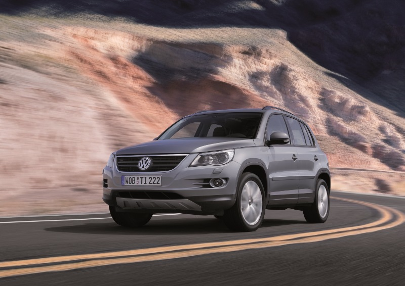 Autoesittely Volkswagen Tiguan 2010-2011
