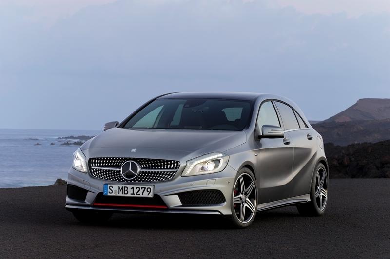 Autoesittely Mercedes-Benz A-Sarja 2012