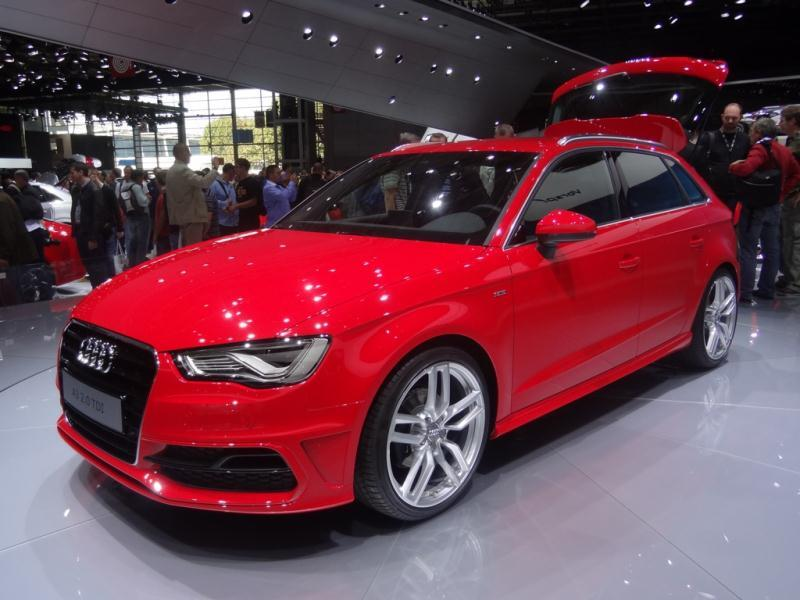 Pariisin autonäyttely 2012: Audi