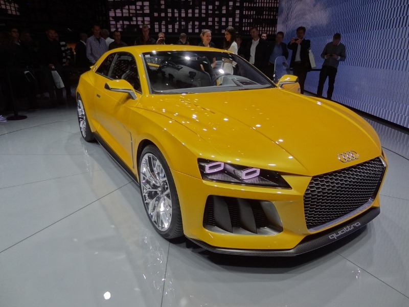 Frankfurtin autonäyttely 2013: Audi