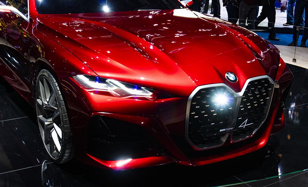Bemarin kaikkien aikojen kaunein automalli? Tältä näyttää upea BMW Concept 4