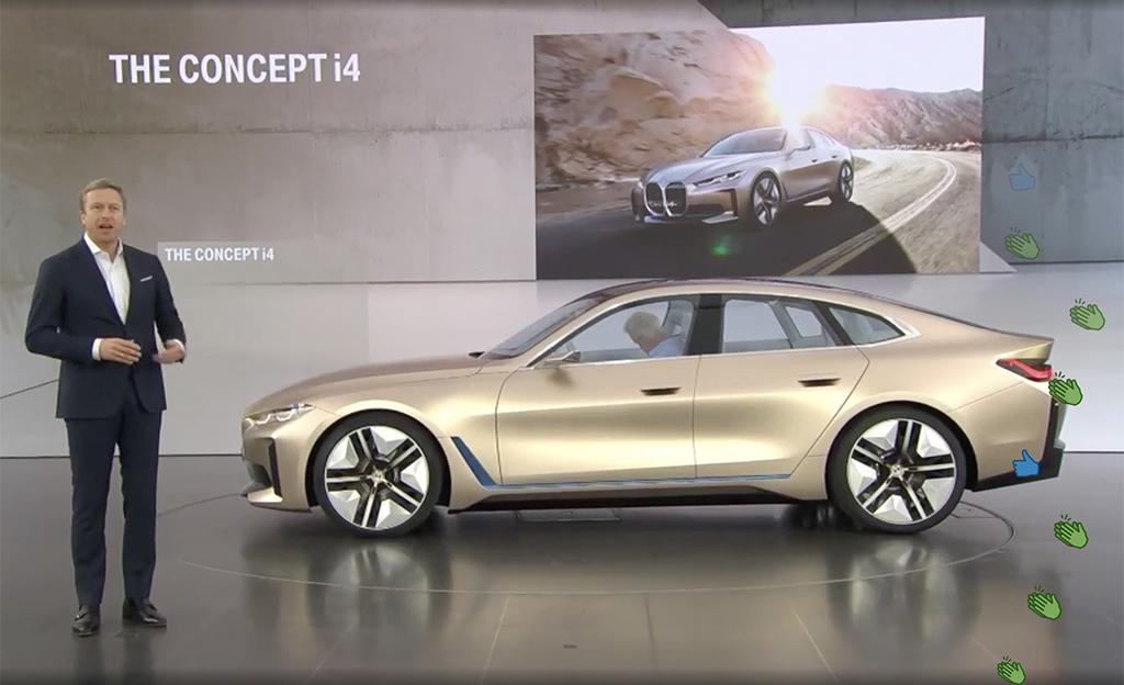 Tuleeko BMW i4:stä markkinoiden kaunein täyssähköauto? Auton äänimaailman on suunnitellut Hans Zimmer