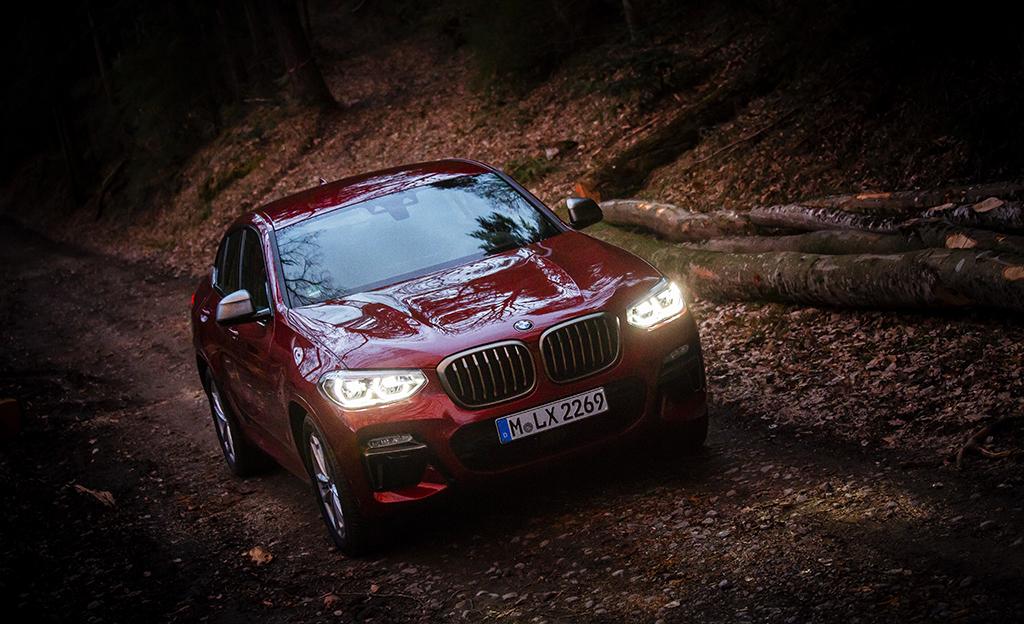 Koeajossa todellinen herkkupala: BMW X4 M40d (vm. 2019) – käytännöllisempi kuin uskoisit