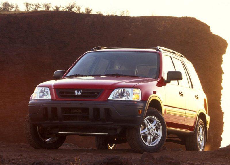Autoesittely Honda CR-V 1995-2001