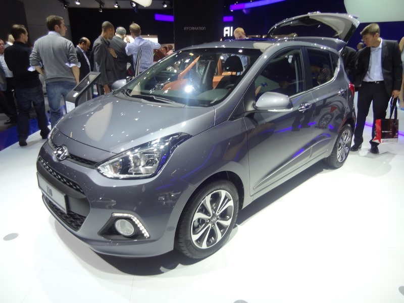 Frankfurtin autonäyttely 2013: Hyundai