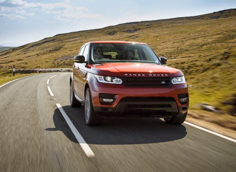 Autoesittely Range Rover Sport 2013