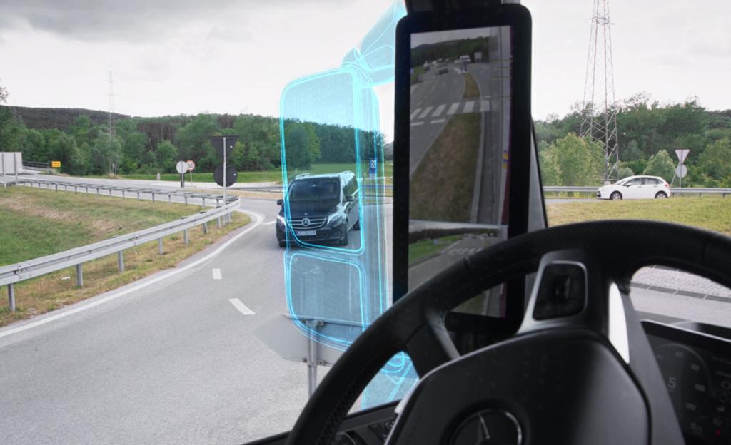 Työautojen aatelia? Tältä näyttää Mercedes-Benzin uutuuden futuristinen maisemakonttori