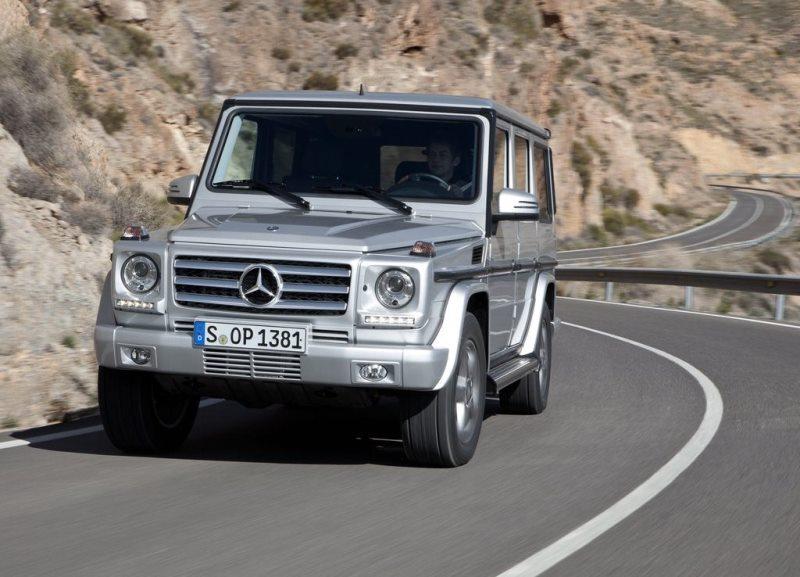 Autoesittely Mercedes-Benz G-sarja 2013