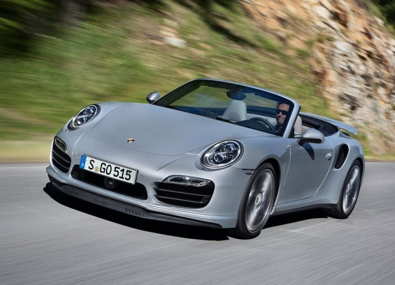 Autoesittely Porsche 911 Turbo & S Cabriolet 2013