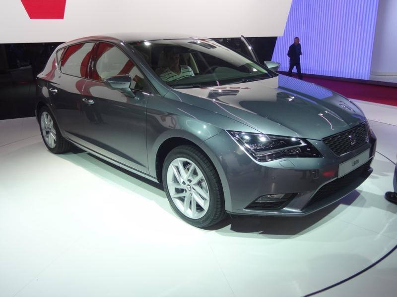 Pariisin autonäyttely 2012: Seat