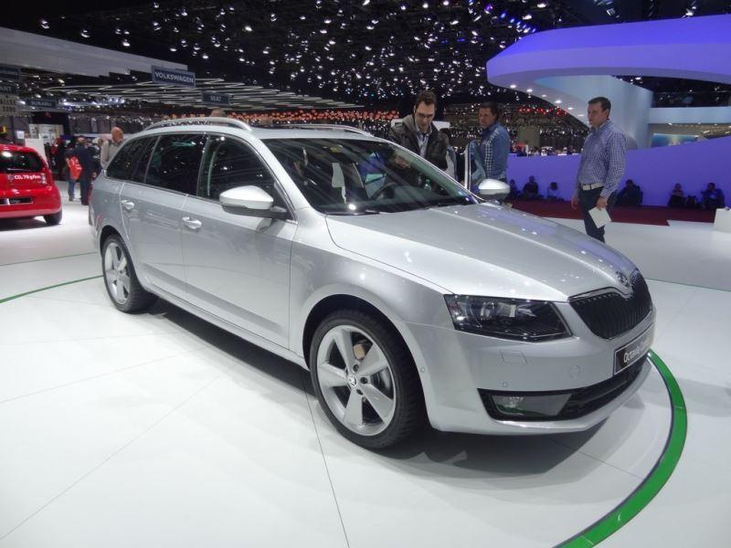 Geneven autonäyttely 2013: Skoda