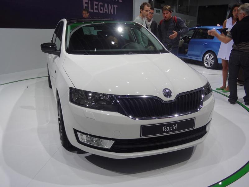 Pariisin autonäyttely 2012: Skoda