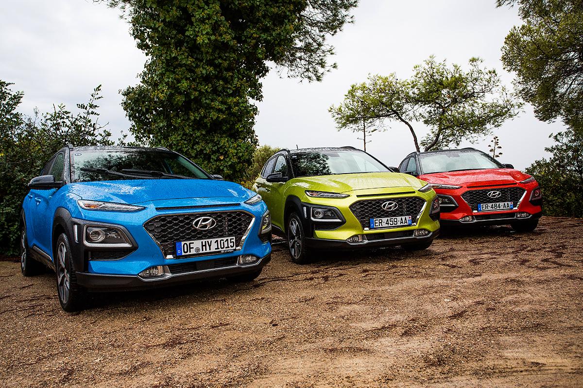 Värikkäät autot - viisi autoa, joiden väritys poikkeaa muista!