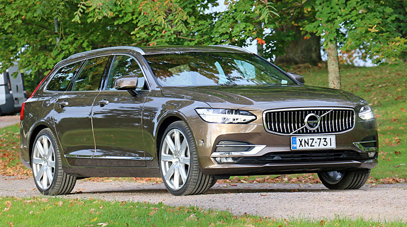 IL Koeajo: Volvo V90 sai ylistystä koeajossa