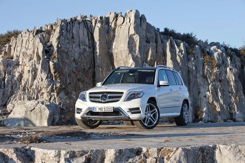 Autoesittely Mercedes-Benz GLK 2012