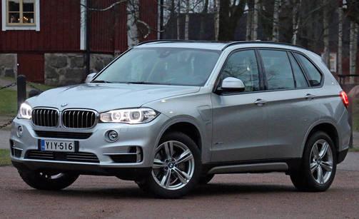 IL Koeajo ja arvio: BMW X5 hybridi