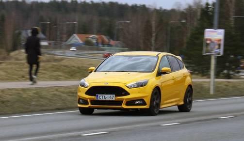 IL koeajo ja arvio: Ford Focus ST