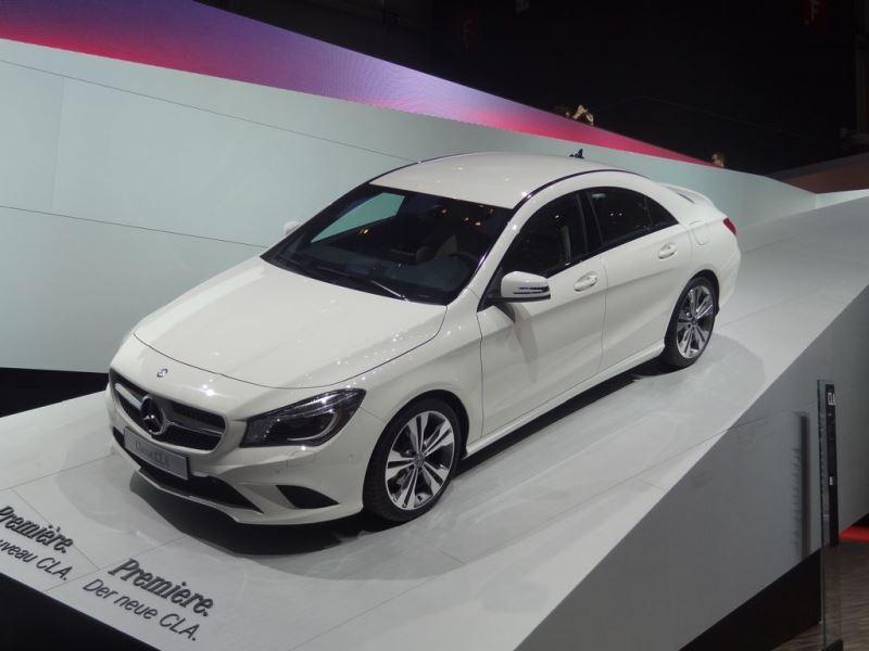 Geneven autonäyttely 2013: Mercedes-Benz