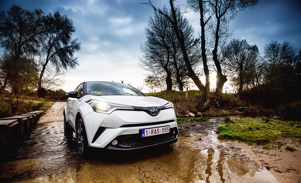 Koeajossa Toyota C-HR - tuleva myyntimenestys