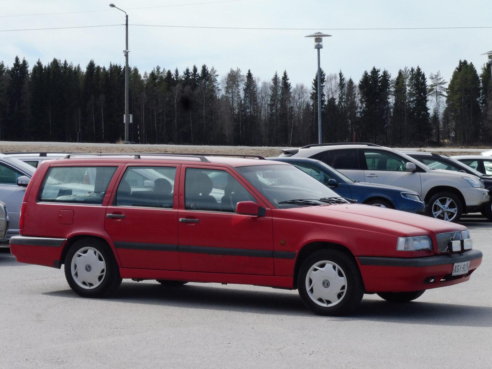 Volvo 850, Vaihtoauto