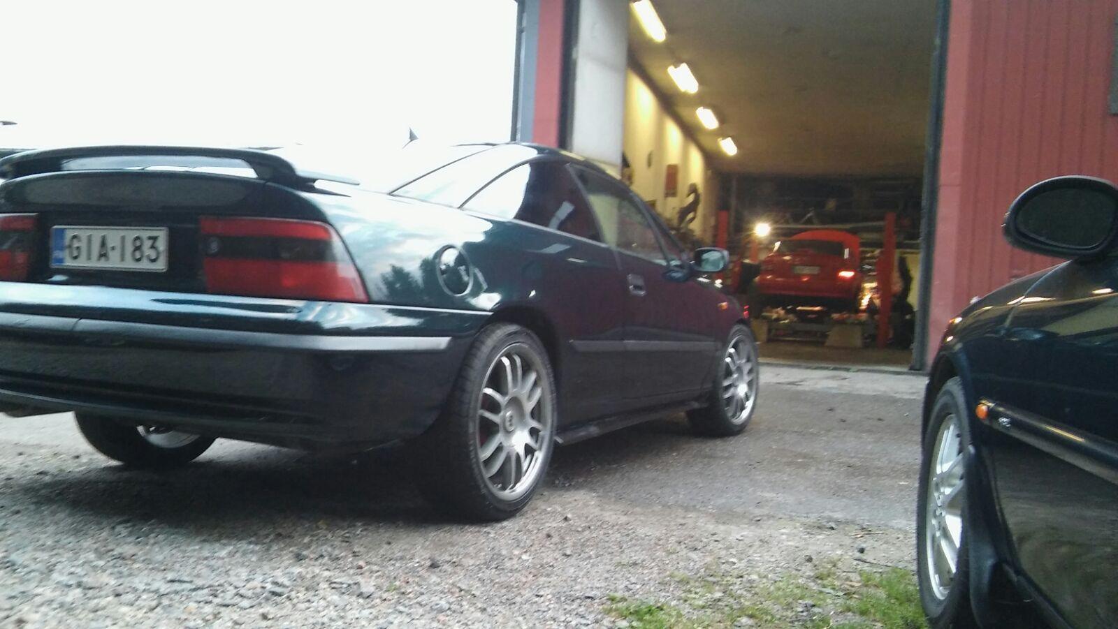 Opel Calibra, Vaihtoauto