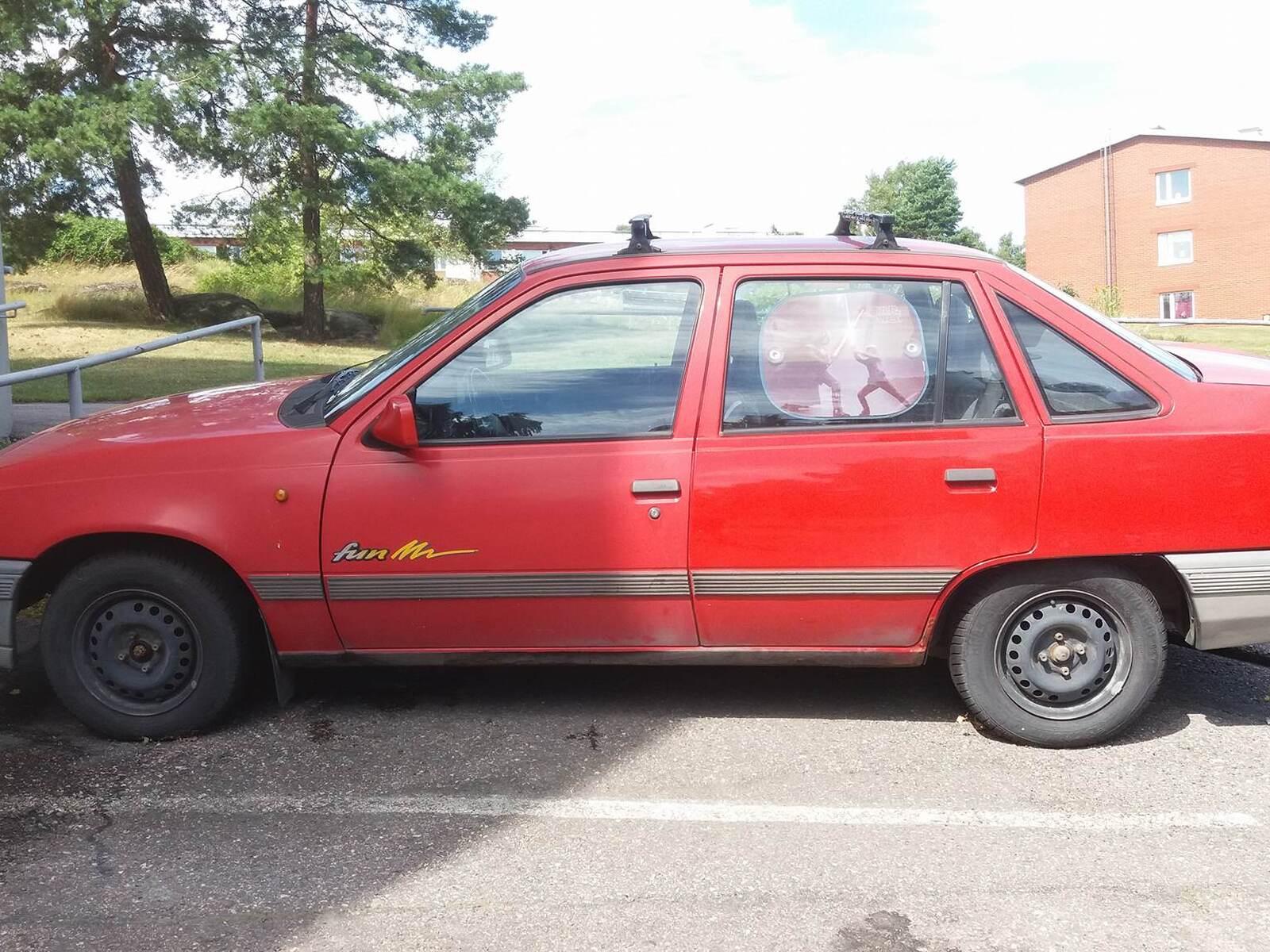 Opel Kadett, Vaihtoauto