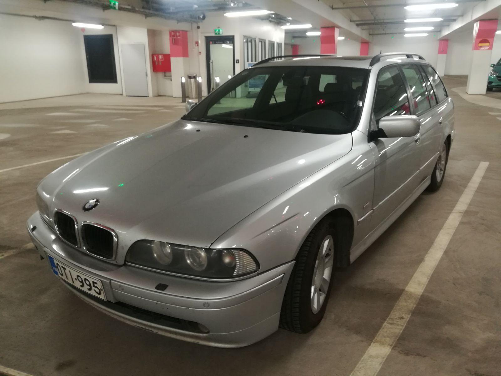 BMW 525, Vaihtoauto
