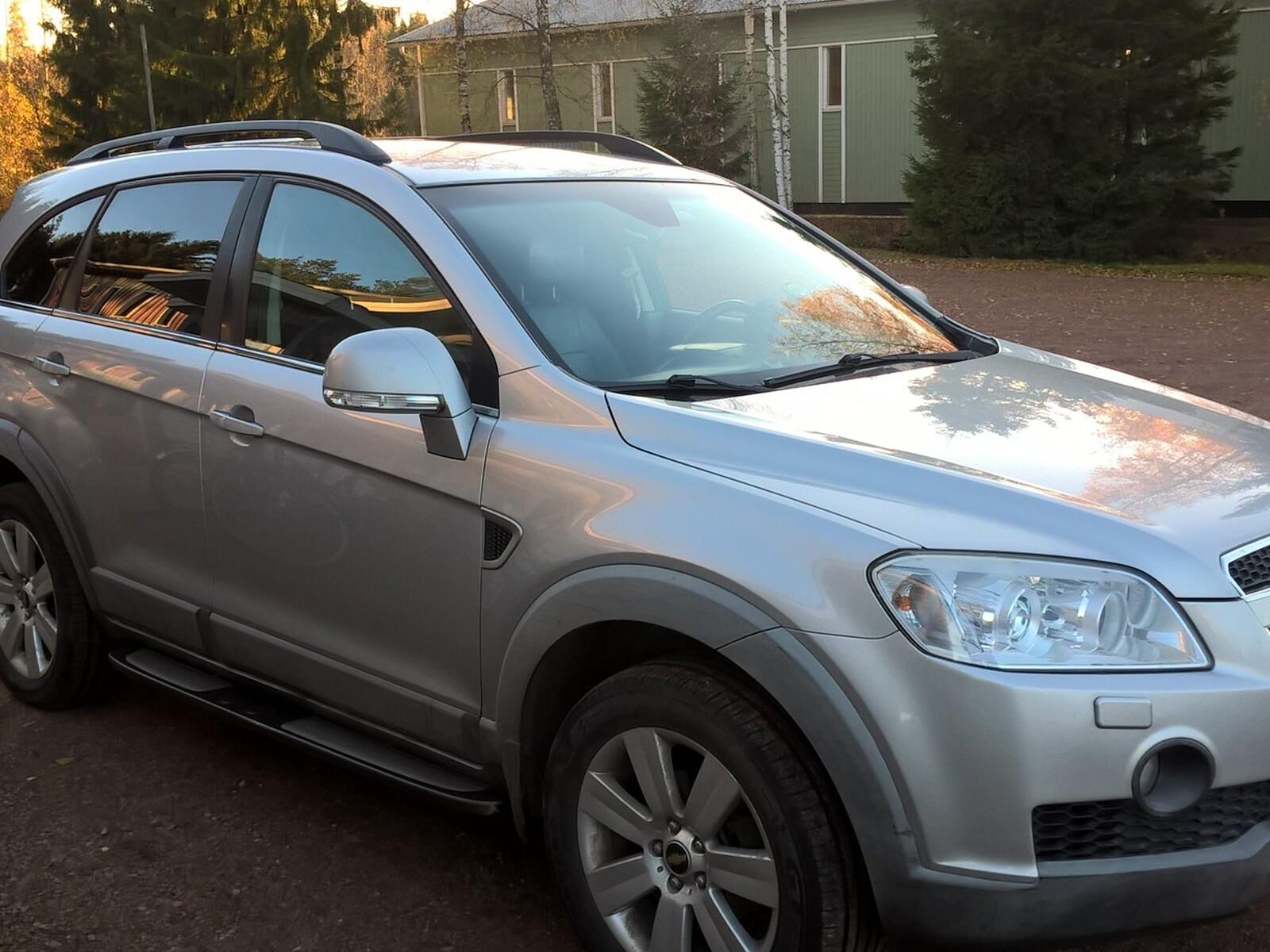 Chevrolet Captiva, Vaihtoauto