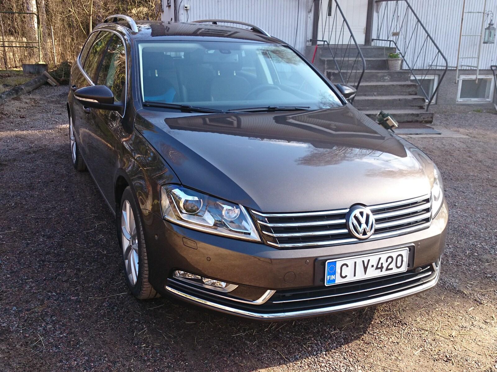 Volkswagen Passat Variant, Vaihtoauto
