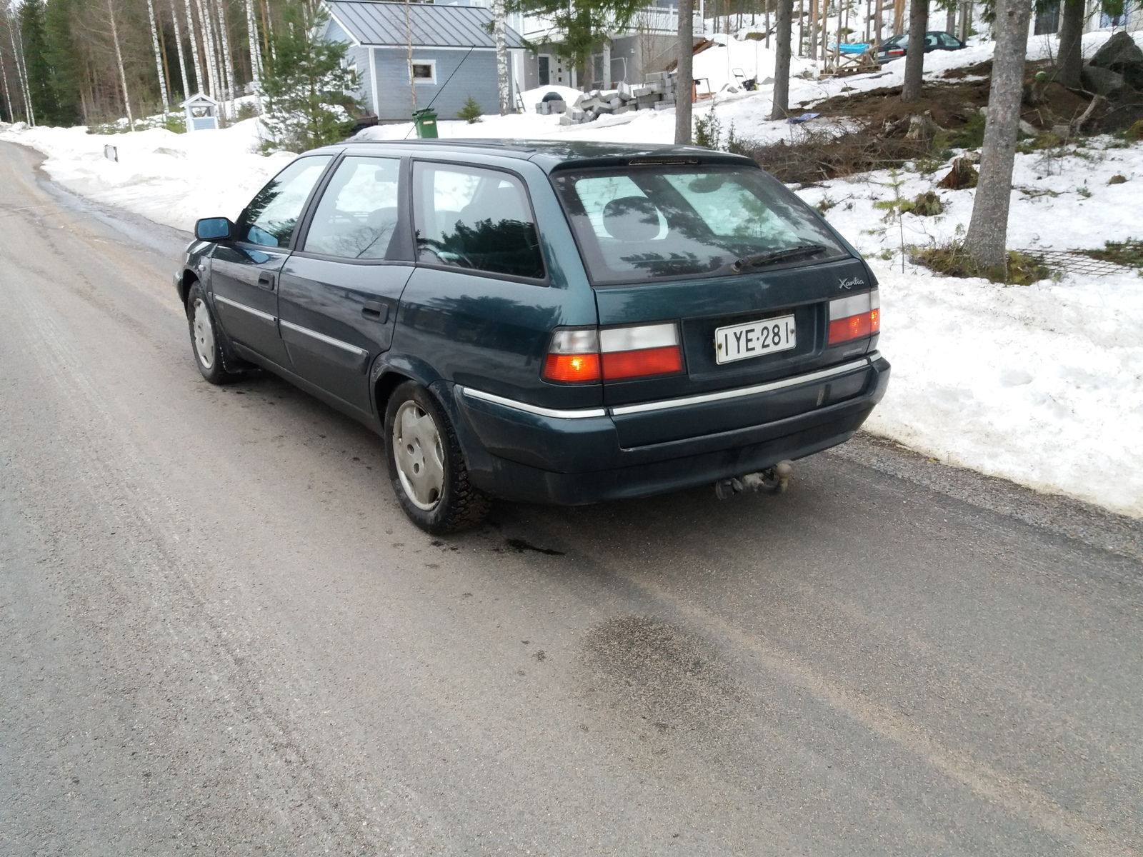 Citroën Xantia, Vaihtoauto