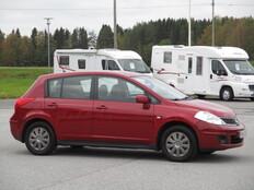 Nissan Tiida, Vaihtoauto