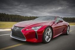 Lexus LC, Uusi auto