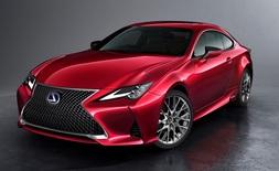 Lexus RC, Uusi auto