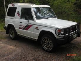 Mitsubishi Pajero Sport, Vaihtoauto