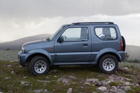 Suzuki Jimny, Vaihtoauto