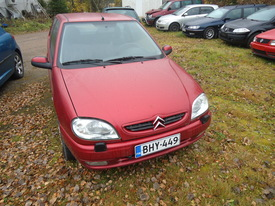 Citroën Saxo, Vaihtoauto