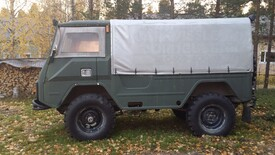 Volvo Laplander, Vaihtoauto