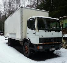 Mercedes-Benz 100, Vaihtoauto