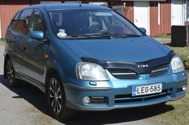 Nissan Almera Tino, Vaihtoauto