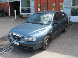 Hyundai Elantra, Vaihtoauto